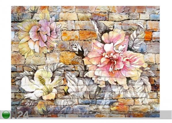 Fliis fototapeet Flowers 4, 360x270 cm ED-154253