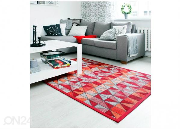 Narma smartWeave® matto Treski red 70x140 cm NA-154699