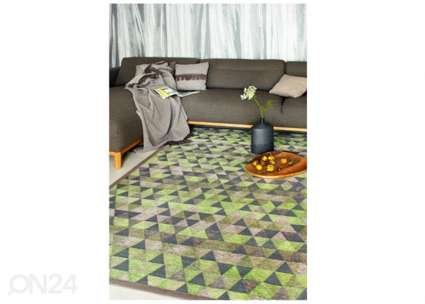 Narma smartWeave® matto Luke green 140x200 cm NA-154843
