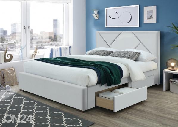 Sänky vuodevaatalaatikolla RA-155084