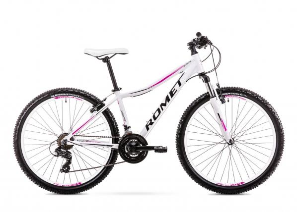 Naisten maastopyörä 15 S Rower ROMET JOLENE 6.1 valkoinen TC-155944