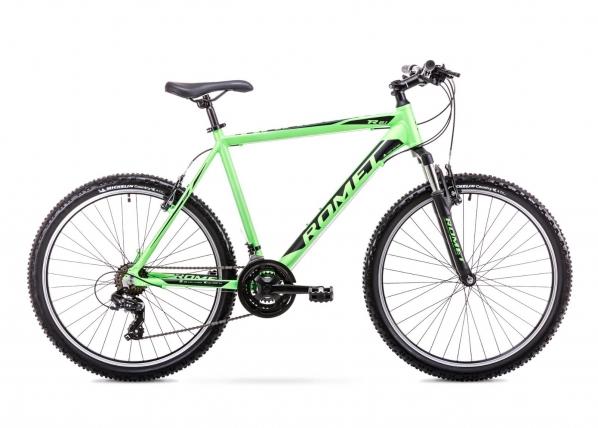 Miesten maastopyörä 17 M Rower ROMET RAMBLER R6.1 vihreä-musta TC-155985