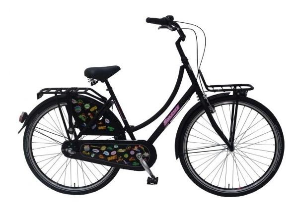 Linnajalgratas naistele SALUTONI Badges 28 tolli 50 cm Shimano Nexus 3 käiku TC-156001