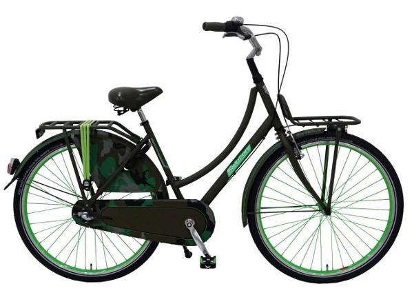 Linnajalgratas naistele SALUTONI Camouflage 28 tolli 50 cm Shimano Nexus 3 käiku TC-156034