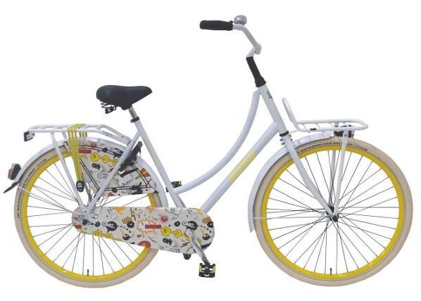 Linnajalgratas naistele SALUTONI Cartoon 28 tolli 56 cm TC-156092