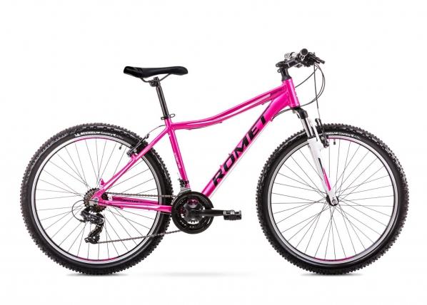 Naisten maastopyörä 19 L Rower ROMET JOLENE 6.1 roosa TC-156118