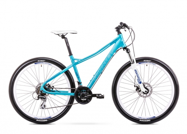 Naisten maastopyörä 9 L Rower ROMET JOLENE 7.1 sininen TC-156135