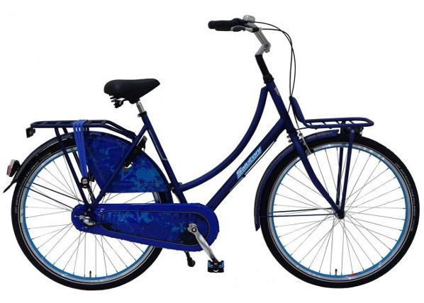 """Linnajalgratas täiskasvanutele SALUTONI Jeans 28"""" 56 cm TC-156223"""