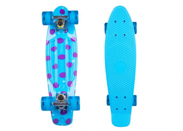 "Pennyboard rula Fish Print DOTS 22"" TC-156426"