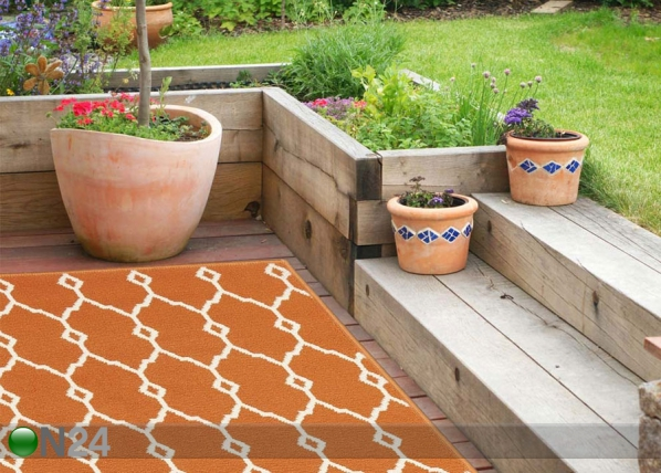 Matto Trellis Orange A5-160033