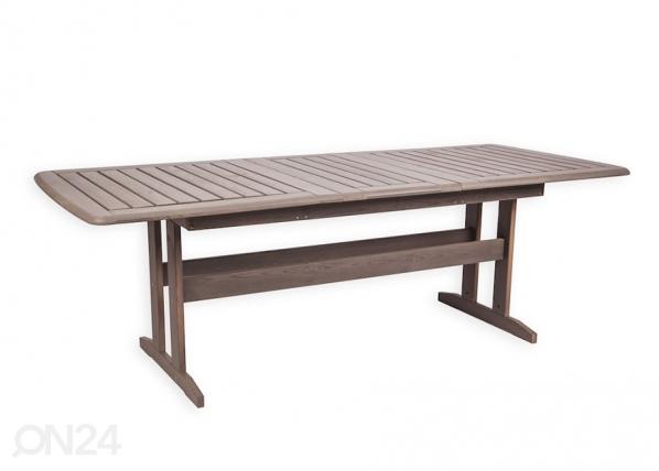Jatkettava puutarhapöytä Bavaria 90x170-220 cm F1-160043