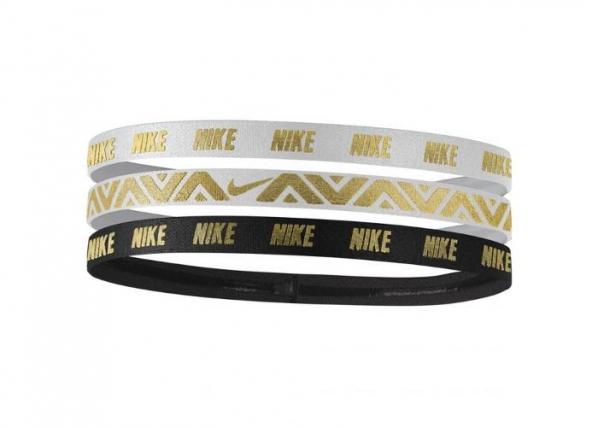 Juuksekummid sportimiseks 3 tk Nike Hairbands TC-160295