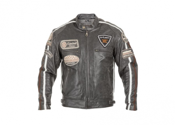 Nahast mootorratta jakk meestele W-TEC Buffalo Cracker TC-161629