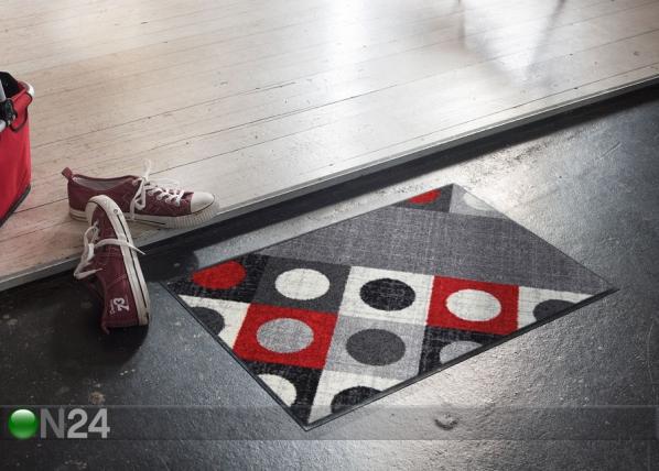 Matto Boules red 50x75 cm A5-161907