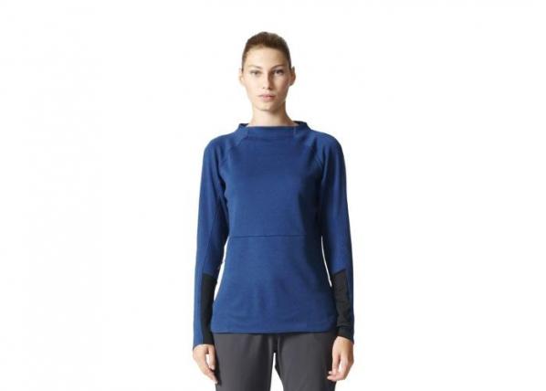 Naiste dressipluus adidas Terrex Climb The City Wool Crew W B45690 TC-163553