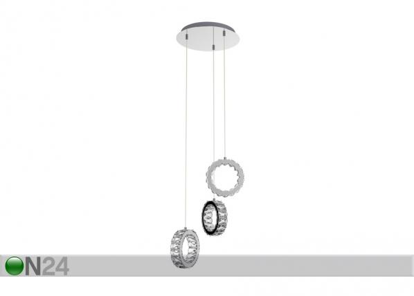 Rippvalgusti Platt-3 LED A5-164956