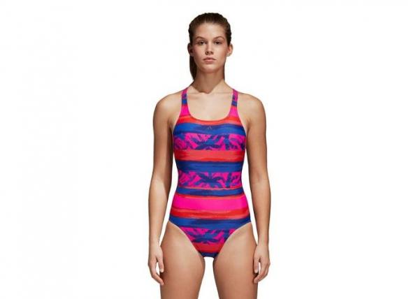 Naiste ujumistrikoo Adidas FIT 1PC AOP W TC-165493