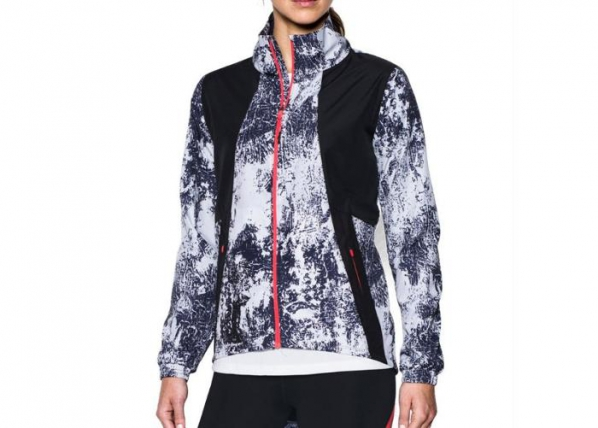 Naisten juoksutakki Under Armour Intl Printed Run W 1300119-001 TC-165512