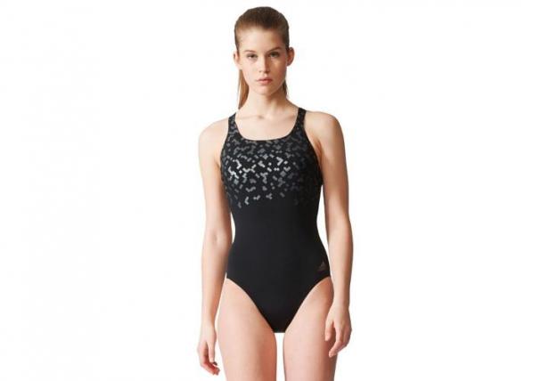 Naiste ujumistrikoo Adidas Rubber-Printed Swimsuit W TC-165530