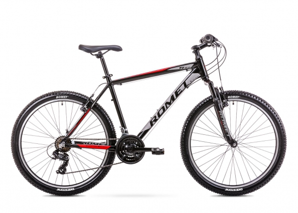 Miesten maastopyörä 14 S Rower ROMET RAMBLER R6.0 musta-punainen TC-167803