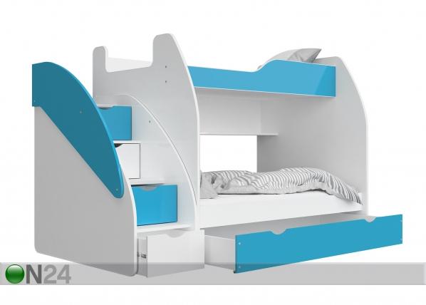 Двухъярусная кровать + матрасы 90/120x200 cm TF-168798
