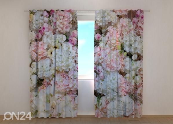 Pimennysverho Flowers Background 240x220 cm ED-168931