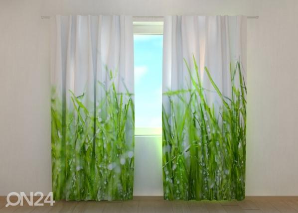 Poolpimendav kardin Fresh Green Grass 240x220 cm ED-168932