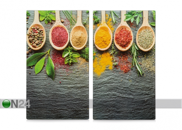 Räiskesuoja/liesisuoja Spices 2 kpl GB-168995