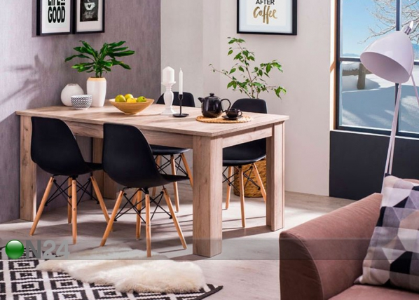 Jatkettava ruokapöytä Oscar 160-200x90 cm AQ-169903