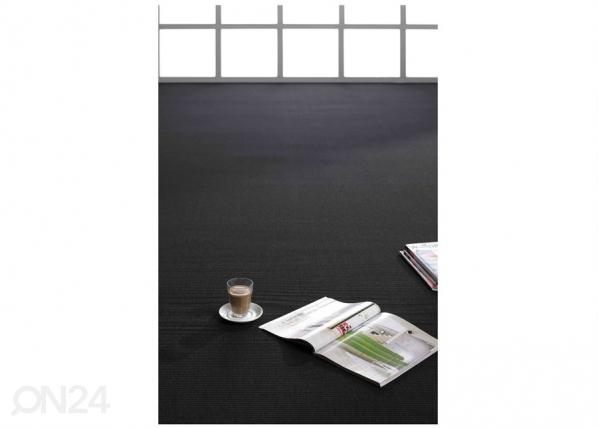 Narma sileäsidosmatto Credo black 80x150 cm NA-170294