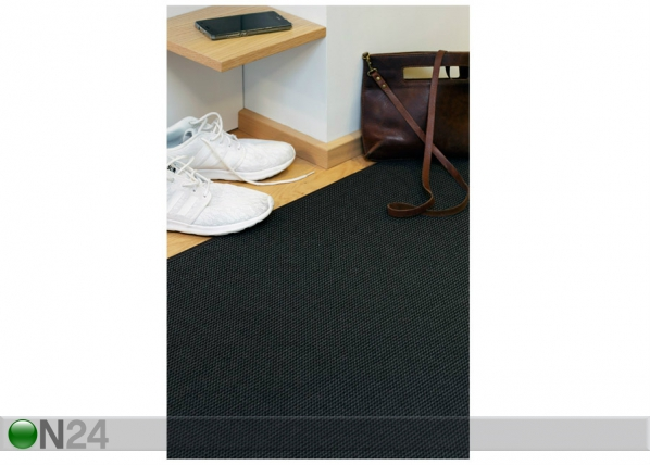 Narma silesidusvaip Limo black 80x150 cm NA-170426