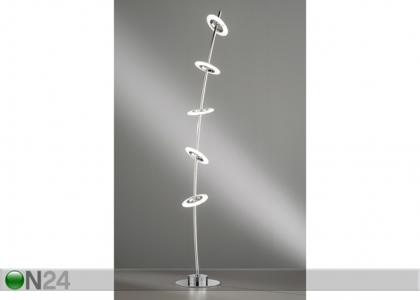 Põrandalamp Bambus LED AA-174998