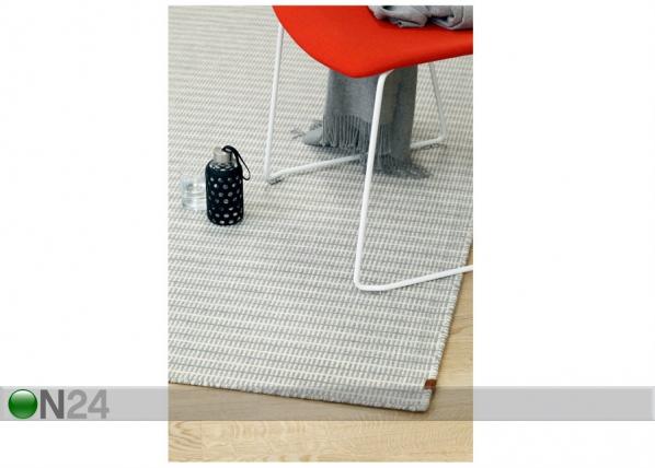 Narma käsinkudottu villamatto Jonava grey NA-180067