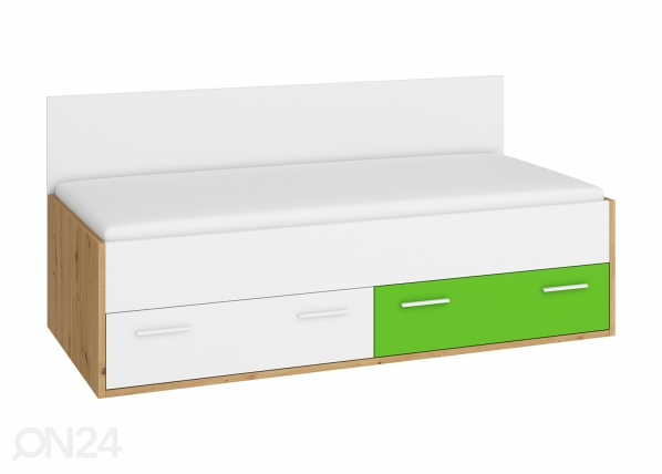 Pesukastiga voodi 90x200 cm TF-180108