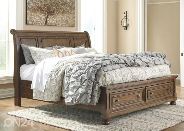 Кровать с ящиком 155x200 cm BM-182142