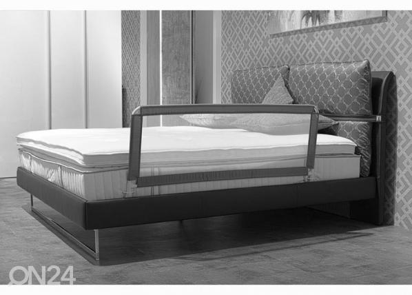 Sängyn turvalaita tummanharmaa 135x50 UP-182288