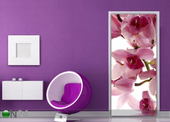 Fleece kuvatapetti Orchids 90x202 cm ED-182323