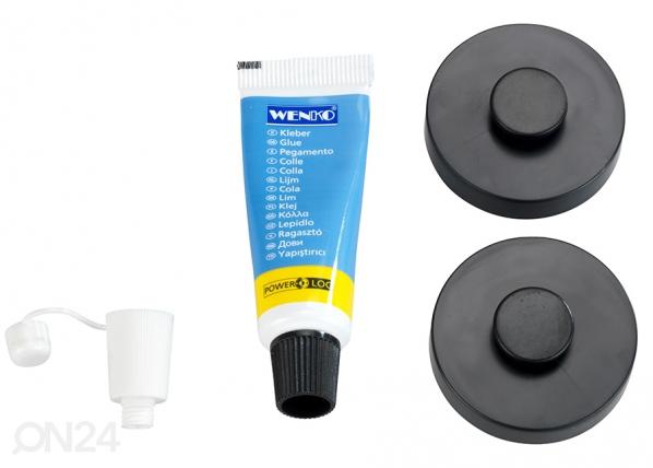 Крепежи для настенной полки в ванную комнату Power-Loc Classic Plus ET-182744