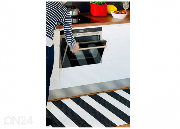 Narma muovimatto Birkas black-white 70x350 cm NA-182828