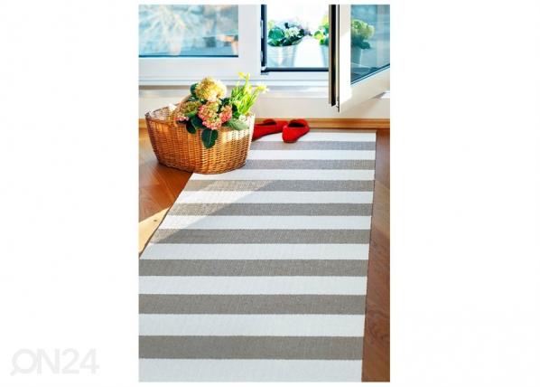 Narma muovimatto Birkas linen-white 70x350 cm NA-182843