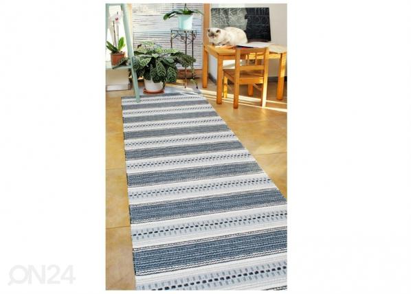 Narma muovimatto Runö grey 70x200 cm NA-183308