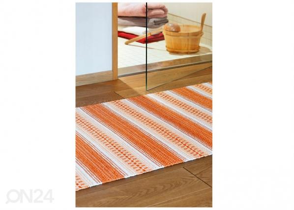 Narma muovimatto Runö orange 70x300 cm NA-183327