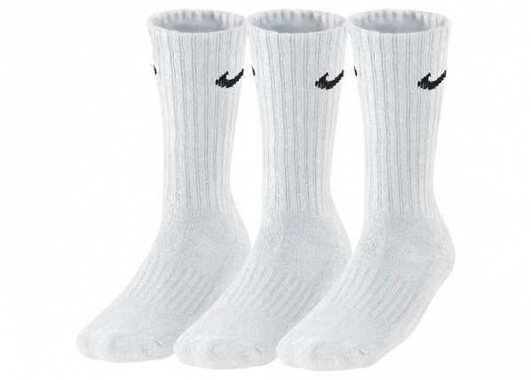 Aikuisten sukat Nike Value Cotton 3 SX4508-101 3 paria TC-184997