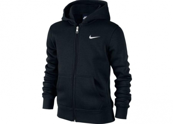 Dressipluus lastele Nike Brushed Fleece Full-Zip Hoodie Junior 619069-010 TC-185679