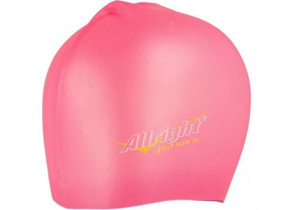Ujumismüts Allright silikoonist roosa TC-185899