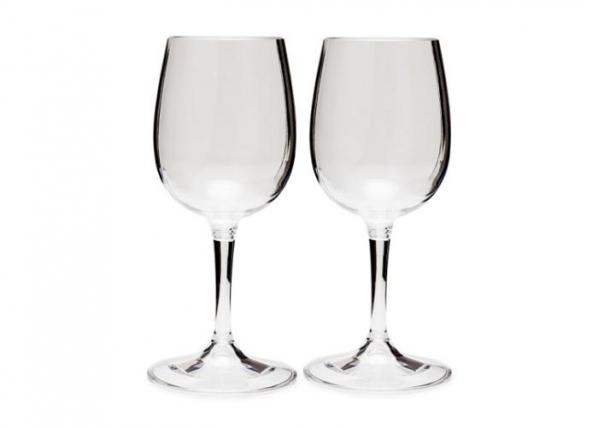Kokkupandava jalaga kergekaaluline valge veini pokaal, 2tk pakis TC-186394