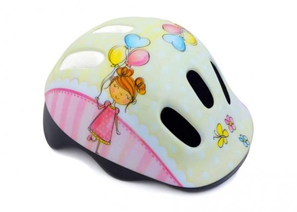 Lasten pyöräilykypärä Spokey Balloon JR TC-186624