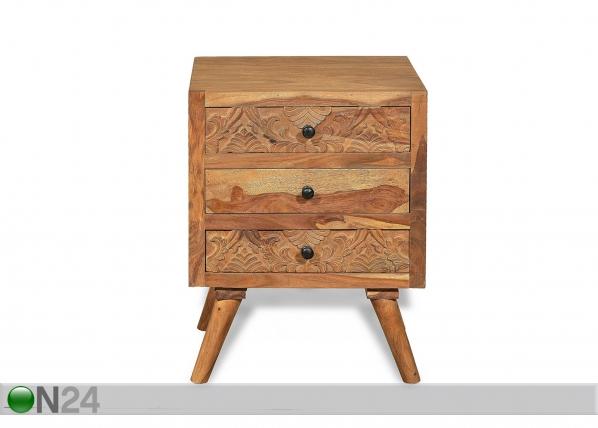 Yöpöytä Carved AY-187559