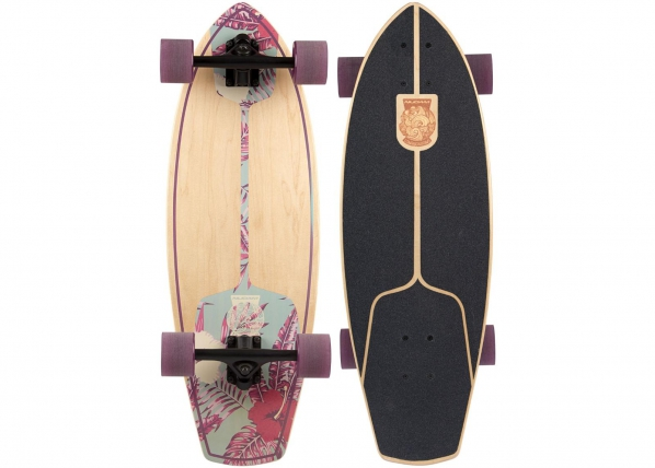 Longboard Kicktail Born to Hula Nijdam TC-188054