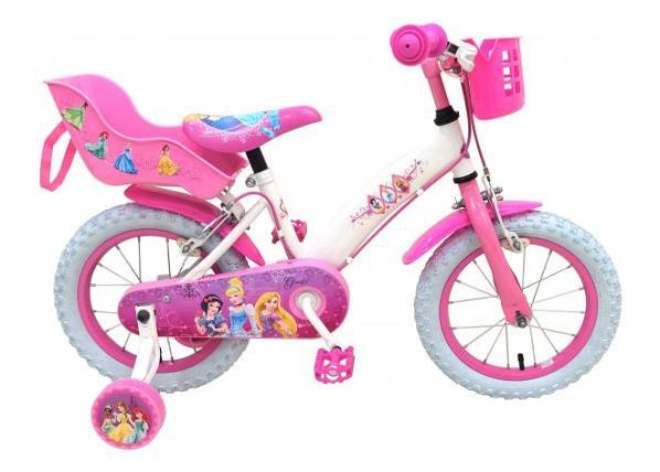 """Lasten polkupyörä Disney Princess 14"""" TC-188254"""